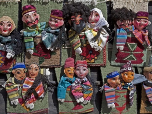 Hand Made Dolls, Uzbekistan Travel