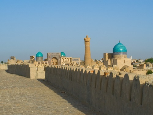 Ancient City, Central Asia Travel