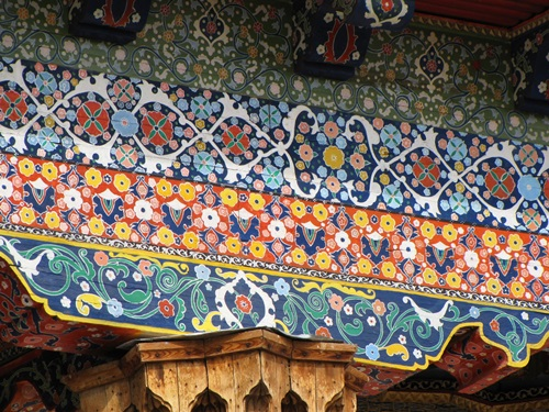 Hand Drawn Ceilings, Central Asia Travel